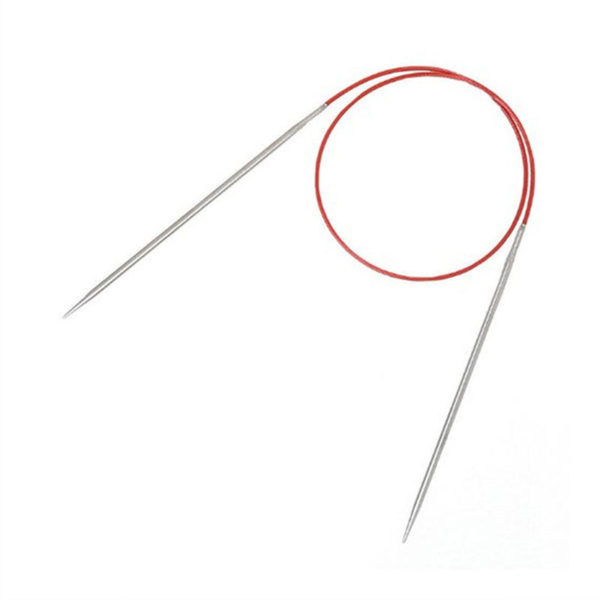 """ChiaoGoo Red Lace stainless steel 32"""" circular knitting needle"""