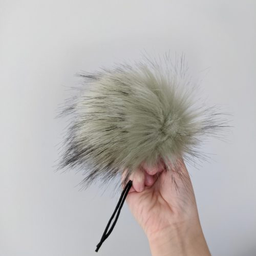Pistachio Faux Fur Pom Pom