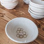 Natural Color Handmade Rope Bowl