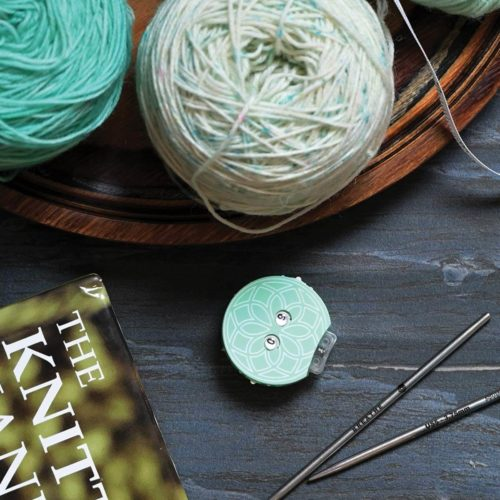 Knitters Pride Mindful collection teal row counter